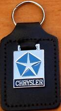 Chrysler Keyring Key Ring - badge mounted on a leather fob