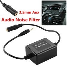 3.5mm Aux Audio Noise Filter Car Electrical Noise Ground Loop Isolator Eliminate
