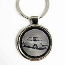 Nissan Figaro Schlüsselanhänger Nissan Figaro als Fotogravur + gratis Textgravur