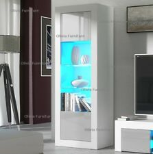 Modern Gloss Living Room Furniture TV Unit Display Cabinet Cupboard LED
