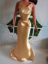 Barbie Doll Beautiful Gold Evening Gown Hooray for Hollywood - No Doll