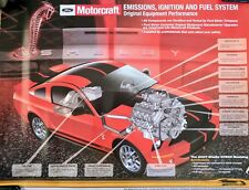 Ford Mustang Shelby GT500 Motorcraft new old stock poster