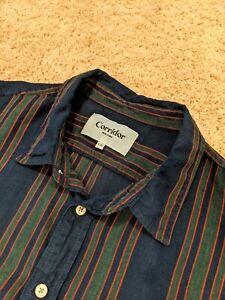 Corridor NYC Linen Short Sleeve Button Up