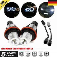 2 x LED Standlicht Ringe Angel Eyes für BMW E39 E53 E60 E61 E63 E64 E65 E66 E87