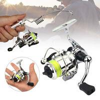Mini Spinning Reel Fishing Reels Upgraded XM100 Metal Reel Fishing Tackle Charm