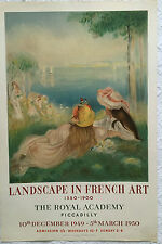 """LANDSCAPE IN FRENCH ART""EXPOSITION A LA ROYAL ACADEMY"