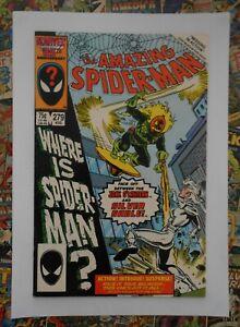 AMAZING SPIDER-MAN #279 - AUG 1986 - JACK O'LANTERN APPEARANCE! - VFN+ (8.5)