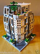Lego SkyScraper Office Building Law Firm Lobby City modular Wall Street