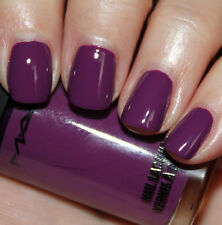 """Mac Nail Lacquer Polish """"In The Dark Purple """" New/Full Size-Very Hard To Find!"""