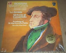 Marriner ROSSINI Overtures - Philips 9500 887 SEALED