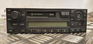 V1 Radio Cassette Player VW 6X0035152C 7640204360 Beta Blaupunkt