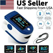 Pulse Oximeter Fingertip Blood Oxygen SpO2 Monitor PR PI Heart Rate Oximetro New