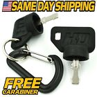 (2 Pack) Ignition Key Replaces John Deere AM153650, AM135356, AM131946, GY20680