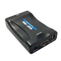 Adattatore da 1080P Scart A HDMI Adattatore Upscaler per Convertitore Audio Z4U3