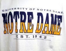 Vintage 80's 90's TNT UNIVERSITY OF NOTRE DAME T Shirt Men's XL
