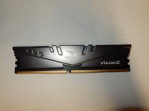 Team T-Force Vulcan 8 GB DDR4 3000 Desktop Memory RAM TLGZD48G3000HC16CBK #R336