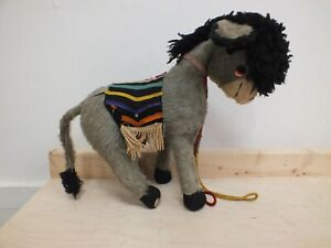 Vintage Merrythought Mohair Donkey  (Hol)