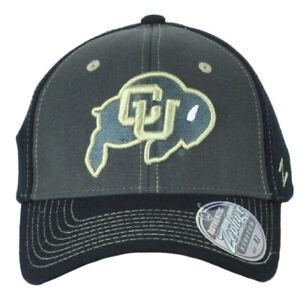 NCAA Zephyr Colorado Buffaloes Two Tone Flex Fit Stretch Medium Large Hat Cap