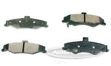 Disc Brake Pad Set-Semi-metallic Pads Rear Tru Star PPM750