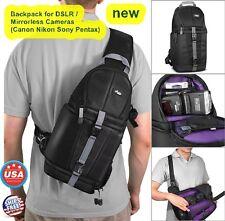 Camera Bag Backpack Travel Hiking Camp DSLR Sling Photo Case Organizer Gadget