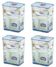 Lock and Lock, Water Tight, Food Container, 7.5-cup, 60-oz, Pack Of 4, Hpl813