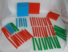 Usl Math Manipulatives Blocks Tens Hundreds Fractions (71 Blocks) Arithmetic