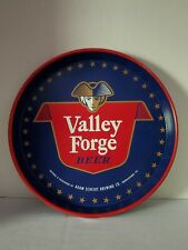 Vtg Valley Forge Beer Serving Tray Metal Rams Head Ale/ Valley Forge Beer.