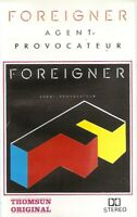 Foreigner .. Agent Provocateur....Import Cassette Tape