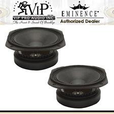 """Eminence DELTA PRO-8A 8"""" 225 Watts Pro Audio Mid-Range 8-Ohm Speaker  (PAIR) NEW"""