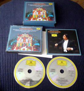 2xCD ROSSINI Claudio Abbado La Cenerentola CR GA Berganza Alva Capecchi LSO DG