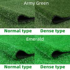 Artificial Synthetic Grass Turf Fake Lawn Outdoor Landscape Golf Decor Floor Mat