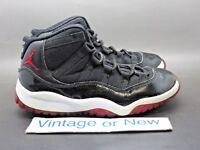 Nike Air Jordan XI 11 Bred Retro PS 2012 sz 1.5Y