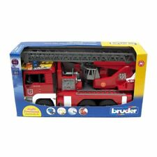 1/16 Toy Fire Engine with Water Pump and Lights/Sounds by Bruder Toys 2771