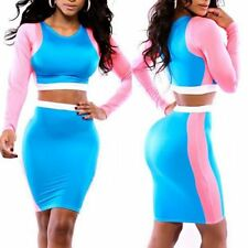 Women's Bandage Bodycon Long Sleeve Evening Sexy Party Cocktail Mini Dress USA