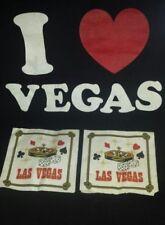 Las Vegas Nevada Bar Cocktail Napkins Gift Idea FREE SHIPPING CAN USA