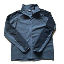THE NORTH FACE Jacket Fleece Long Sleeve Grey Black Size Large Mens