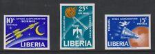 Liberia - 1963, Space Exploration set - Imperf - MNH - SG 880/2