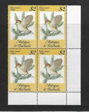 1984 Antigua & Barbuda - Song Birds - Corner Block  - Unmounted Mint.