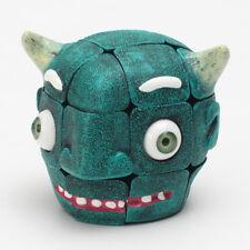 3x3x3 Carni Chaak Ghost Head Type Magic Cube Twist Puzzle Fancy Toy Brain Teaser
