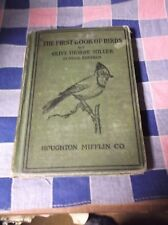 Book The First Book of Birds by Olive Thorne Miller School Edition 1927