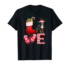 Christmas Lover Gifts Greater Swiss Mountain Dog T-Shirt