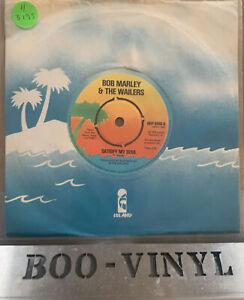 "Bob Marley: Satisfy My Soul/Smile Jamaica: 7"" Vinyl  1978: Island Records: USED"