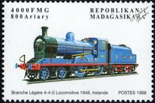 GREAT NORTHERN Railway of Ireland GNR(I) Class S 4-4-0 Steam Train Stamp