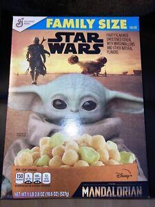 Star Wars The Mandalorian Fruity  Cereal Marshmallows Baby Yoda  1 Box