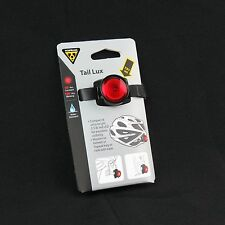 Topeak TMS071 Tail Lux / Bike Cycling Red LED Helmet Saddle Bag Rear Tail Light