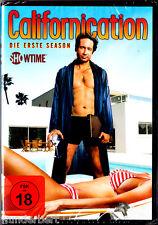 "DVD - neu & ovp - "" CALIFORNICATION - Die erste Season ( Staffel 1 ) """