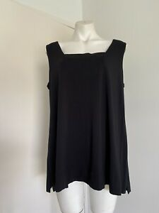 NEW Maggie T Size 1 16/18 Black Top Tank Lined  Bust - Sleeveless
