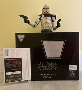 Star Wars Commander Bly Clone Trooper Gentle Giant Mini Bust Con Exclusive 2007