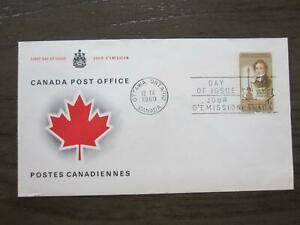 Replacement first day cover #501Brocke Monument 1769-1812