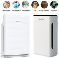 Large Home Air Purifier with True HEPA Filter, Quiet Mode Air Cleaner Allergies